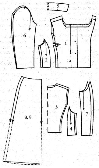 Как сшить жакет своими руками для начинающих выкройки