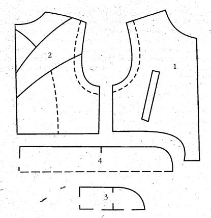 спортивный жилет выкройка, структурные схемы. спортивный жилет выкройка, функциональные схемы.
