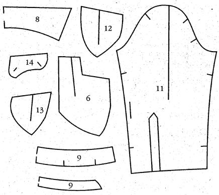 Основная выкройка женского платья 48 размер,цены.