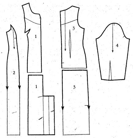 трикотажное платье с рукавом реглан шьем своими руками.