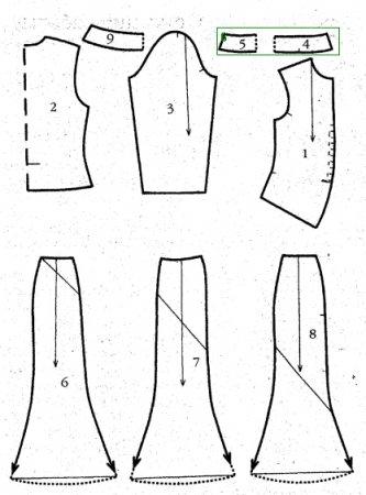 Шьем блузку. Выкройка блузки