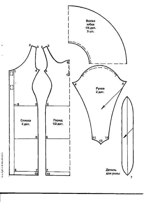 Платье из блузки и юбки своими руками