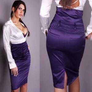 Выкройка юбки с завышенной талией. Шьем юбку с завышенной талией