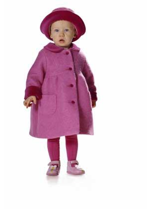 Выкройка детского пальто шьем