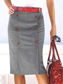 Выкройки женских юбок. Сшить юбку | джинсовая