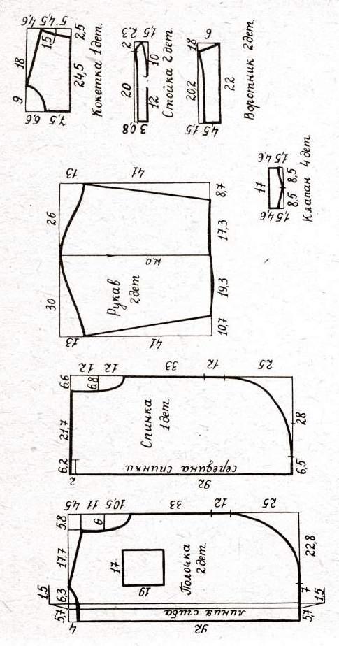 Кройка и шитье для начинающих - Фасон
