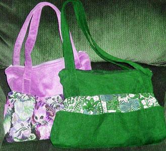 Сумки из ткани, выкройки сумок из