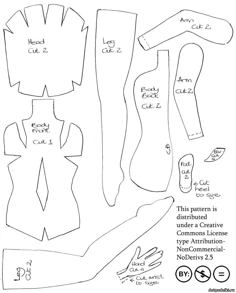 Детские костюмы своими руками с выкройками 443