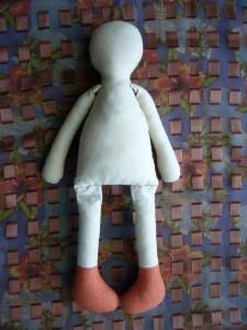 ткани выкройка реалистичной куклы из