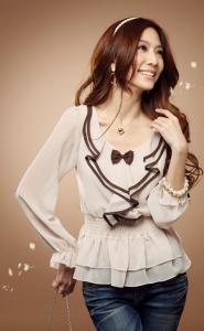 Классическая блузка своими руками фото 928