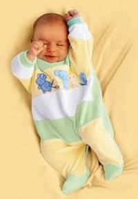 Комбинезон для новорожденных. Выкройка комбинезона для новорожденного