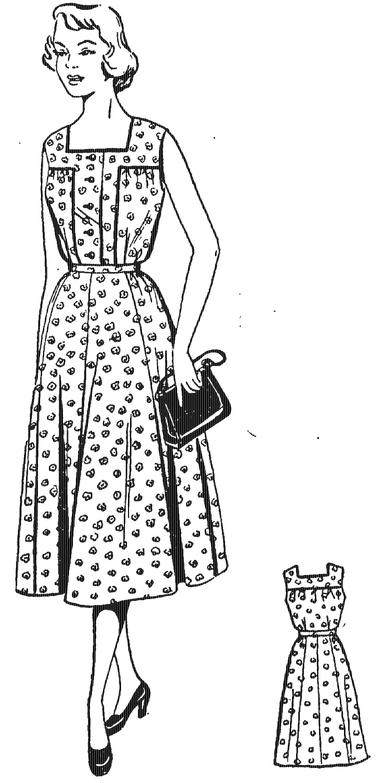 Модели ситцевых платьев для полных