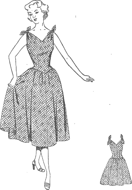 Сшить летнее платье из ситца 2