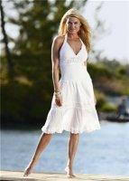 летние платья из трикотажа 2012