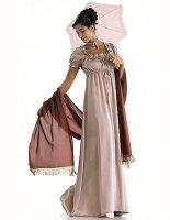 Выкройка платья ампир