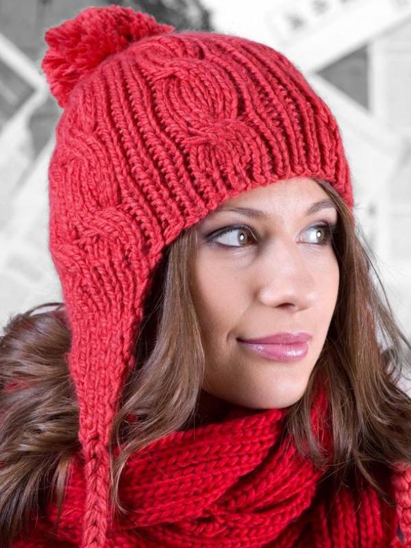 Капюшон шапка спицами схема фото 64