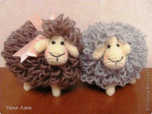 Игрушки своими руками новогодние овечки