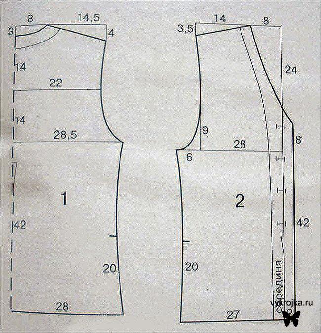 Как сшить блузку без рукавов своими руками видео