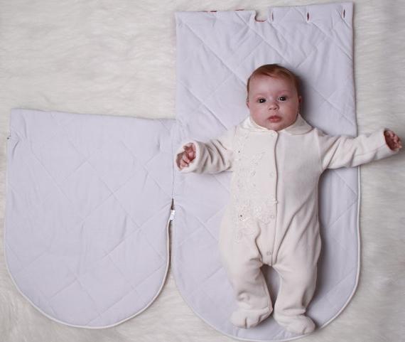 Новорожденный конверт выкройка с размерами