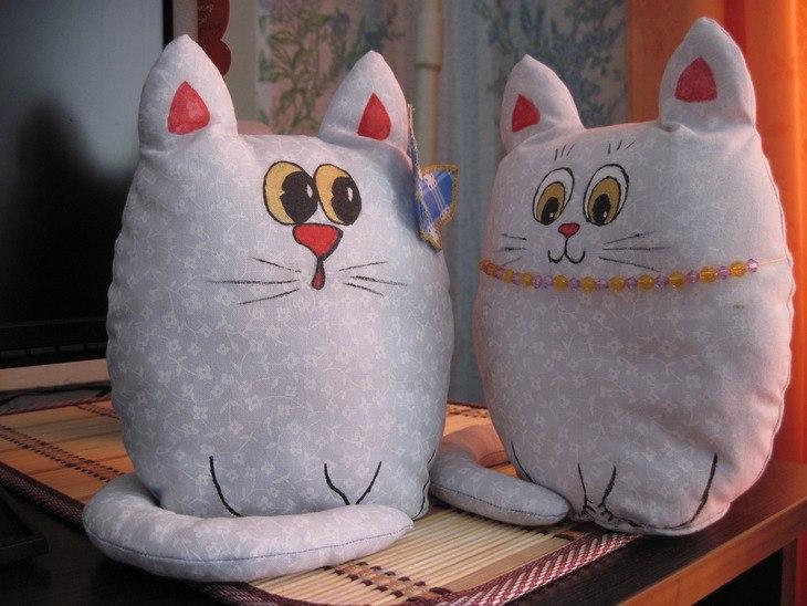 Игрушки котов своими руками
