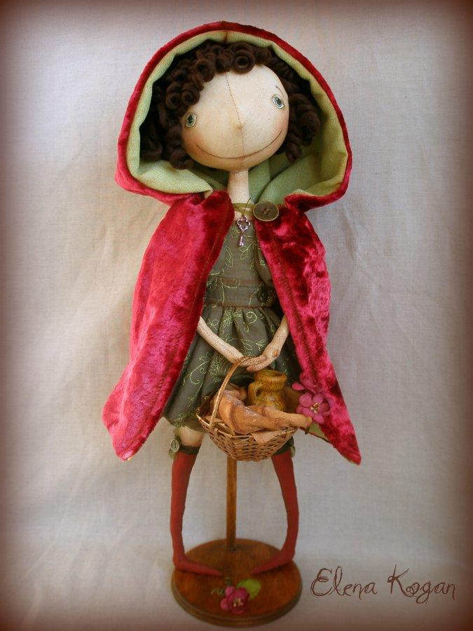 Кукла тыквоголовка своими руками