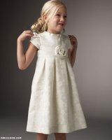 Выкройка стильного платья для девочки