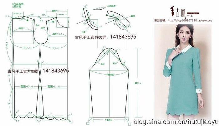 Летнее платье выкройка без рукавов